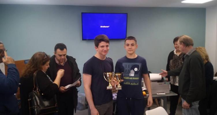 Πανελλήνιο Πρωτάθλημα Ζευγών ΜΠΡΙΤΖ – Νέες διακρίσεις για το Αγρίνιο