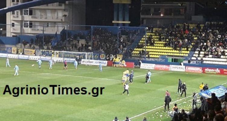 SL-Τέλος παιχνιδιού: Παναιτωλικός (1-0) ΠΑΣ Γιάννινα