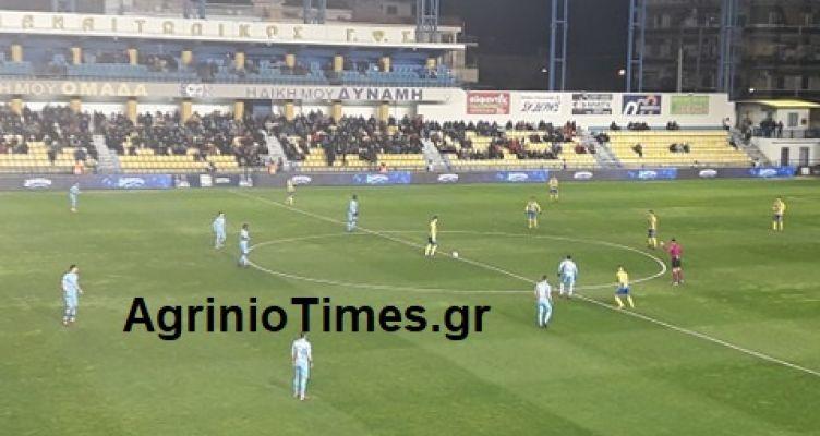 SL-Τέλος πρώτου ημιχρόνου: Παναιτωλικός (0-0) ΠΑΣ Γιάννινα