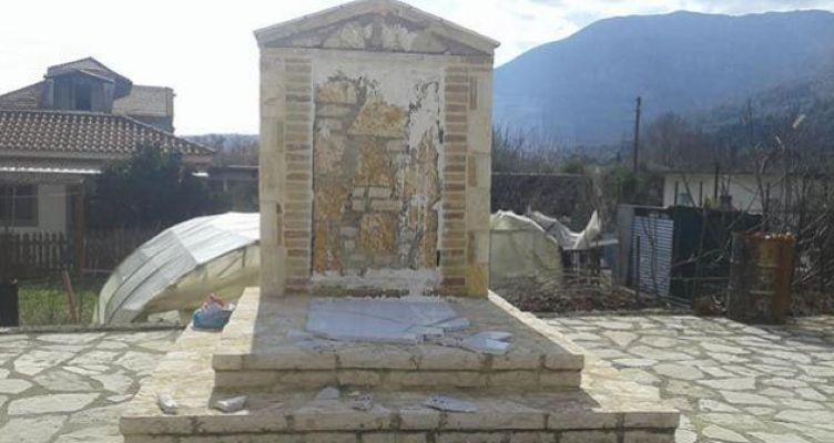 Δικογραφία για τον βανδαλισμό του Μνημείου Ηρώων στο Βασιλόπουλο Ξηρομέρου