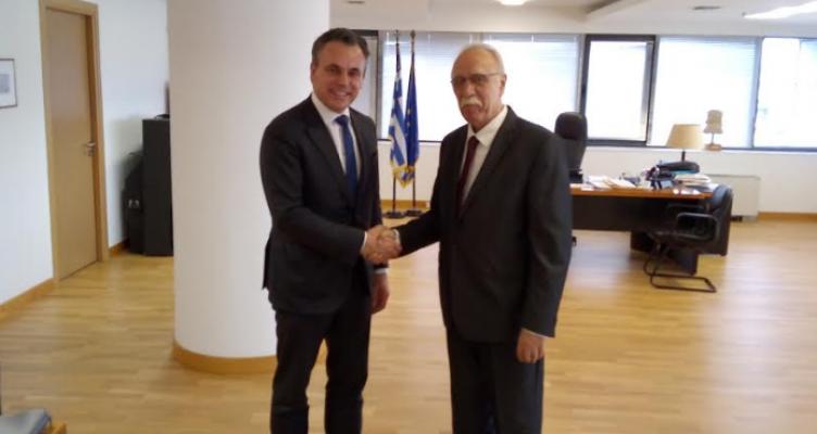 Συνάντηση του Αιτ/να Δημήτρη Βίτσα με Υπουργό Μετανάστευσης Ολλανδίας