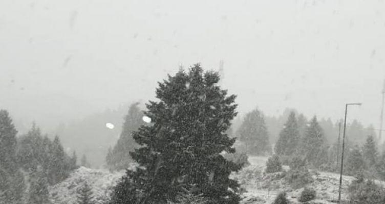 Στα… «λευκά» ξανά η Ορεινή Ναυπακτία και Δωρίδα (Βίντεο-Φωτό)