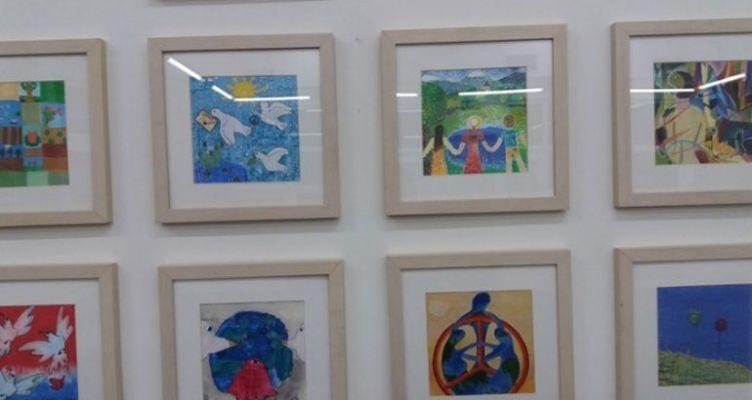 Παιδιά από όλο τον κόσμο ζωγραφίζουν για την ειρήνη
