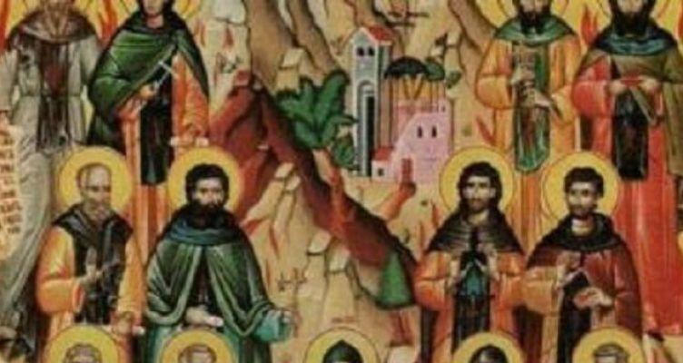 Σήμερα τιμάται ο Άγιος Αγάπιος και των συν αυτώ μάρτυρες