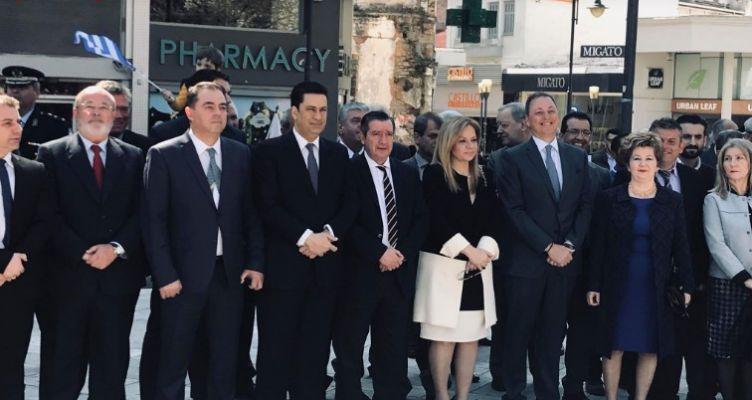 Αγρίνιο-Πλατεία Δημάδη: Επιμνημόσυνη δέηση και κατάθεση στεφάνων (Φωτό)