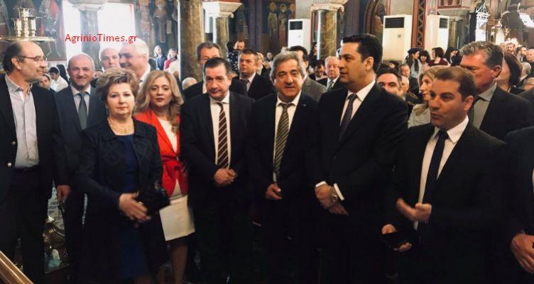 Αγρίνιο: Στη Δοξολογία ο Δήμαρχος Αθηναίων Γιώργος Καμίνης (Φωτό)