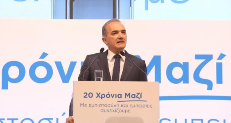 Ο Μάριος Σαλμάς με αφορμή την συμπλήρωση 20 χρόνων κοινοβουλευτικής του θητείας