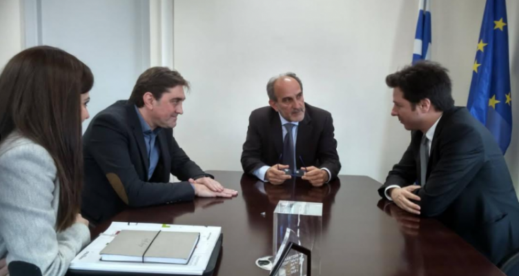 Συνάντηση Κατσιφάρα με τον Πρόεδρο του Οργανισμού Βιομηχανικής Ιδιοκτησίας