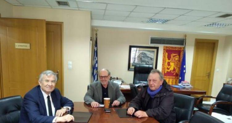 Επίσκεψη υφυπουργού Περιβάλλοντος και Ενέργειας Γιώργου Δημαρά στη Ναύπακτο