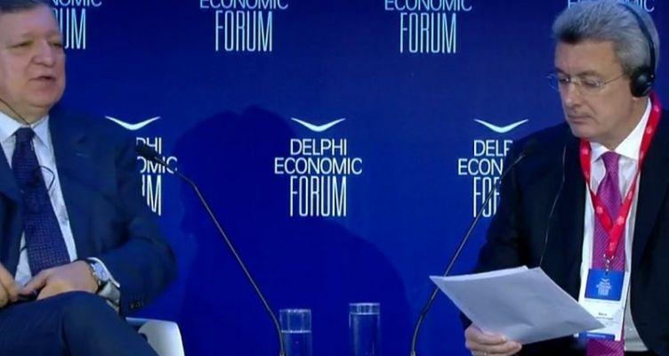 Μπαρόζο στο φόρουμ των Δελφών: Οι αγορές περιμένουν νίκη Μητσοτάκη στις εκλογές