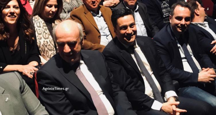 Αγρίνιο: Η ομιλία του Επικεφαλής της Ν.Δ. για τις Ευρωεκλογές, Βαγγέλη Μεϊμαράκη (Βίντεο-Φωτό)