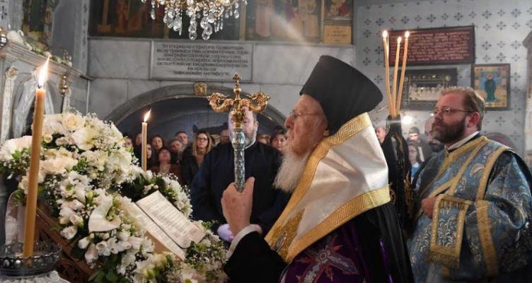 Ομιλία του Οικουμενικού Πατριάρχου στον Ιερό Ναό Παναγίας Βλαχερνών