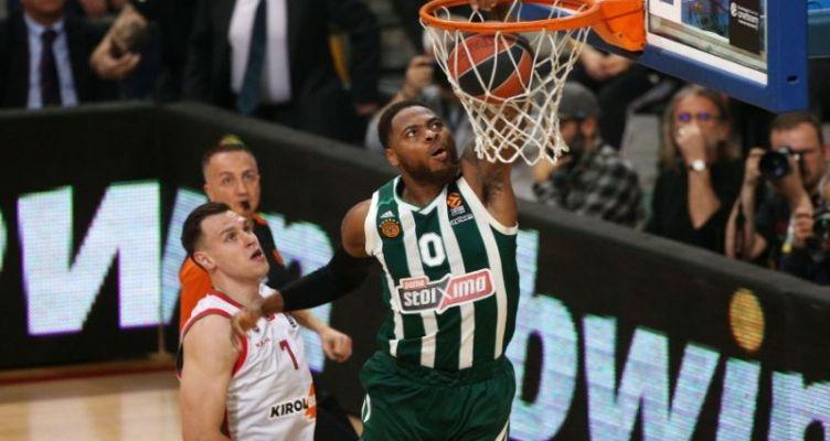 Euroleague Basketball: Κέρδισε ο Παναθηναϊκός, αλλά δεν κάλυψε τη διαφορά
