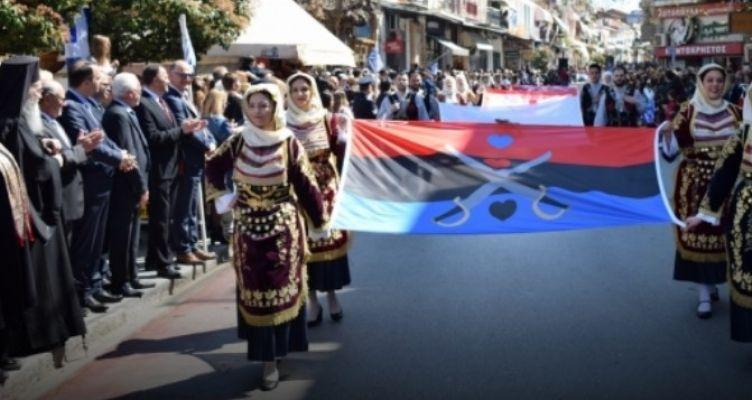 Ναύπακτος: Βίντεο από την μαθητική παρέλαση της 25ης Μαρτίου