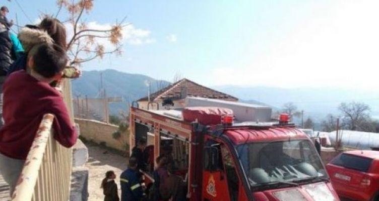 Αιτωλικό: Η Πυροσβεστική Μεσολογγίου στο Δημοτικό Σχολείο Σταμνάς (Φωτό)