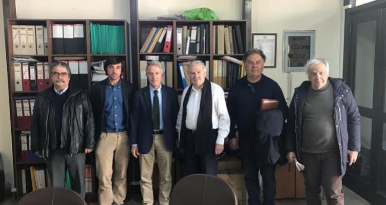 Συνάντηση Σπηλιόπουλου με τον Δήμαρχο Ανδρίτσαινας-Κρεστένων