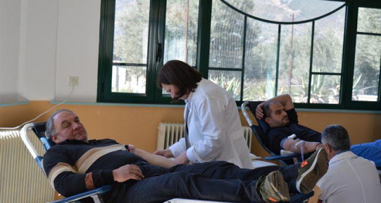 Με επιτυχία και συμμετοχή η εθελοντική αιμοδοσία στον Βάρνακα