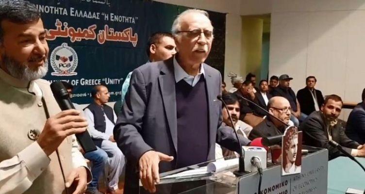 Oμιλία του Αιτωλοακαρνάνα Βίτσα στην πακιστανική κοινότητα