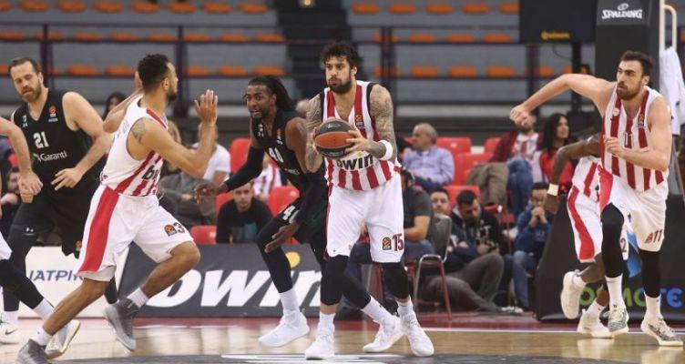 Euroleague Basketball: Με… γλυκό τρόπο αποχαιρέτησε ο Ολυμπιακός!