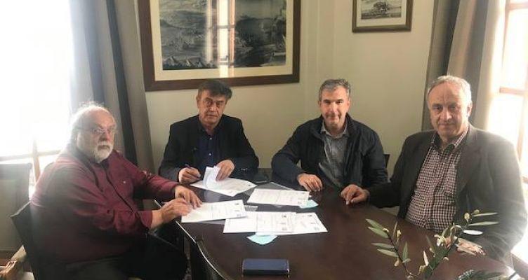 Σύμβαση έργου Αγροτική Οδοποιία στο Δήμος Μεδεώνος του Δήμου Ακτίου-Βόνιτσας