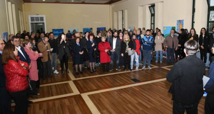 Δήμος Πατρέων: Εγκαινιάστηκε η Πανελλήνια Έκθεση Ζωγραφικής των ΚΔΑΠ ΜΕΑ (Φωτό)