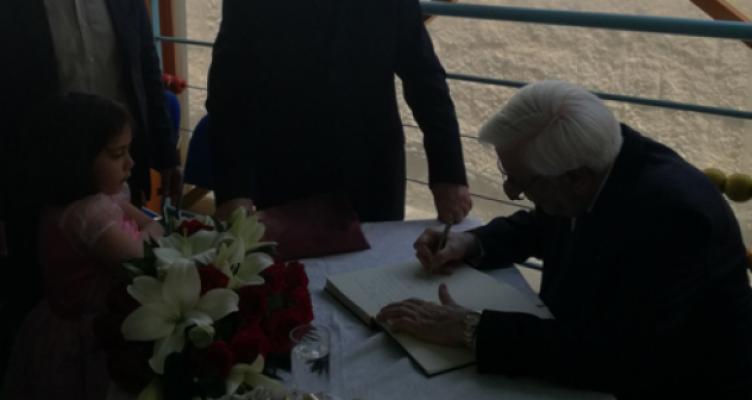 Επίσκεψη Προέδρου της Δημοκρατίας κ. Προκόπη Παυλόπουλου στην ΕΨΥΠΕΑ Μεσολογγίου