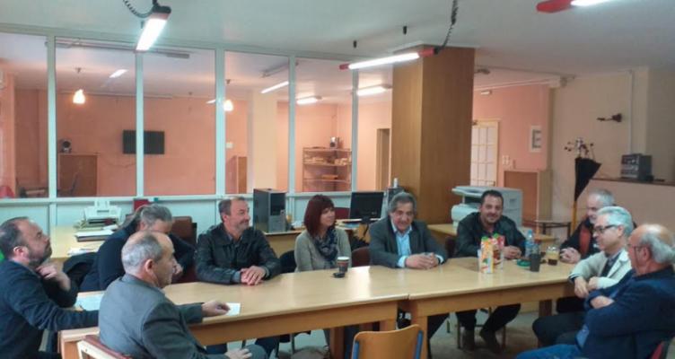 Συνάντηση Στ. Καμμένου με τα Δ.Σ. της Β' ΕΛΜΕ και του Συλλόγου Εκπαιδευτικών