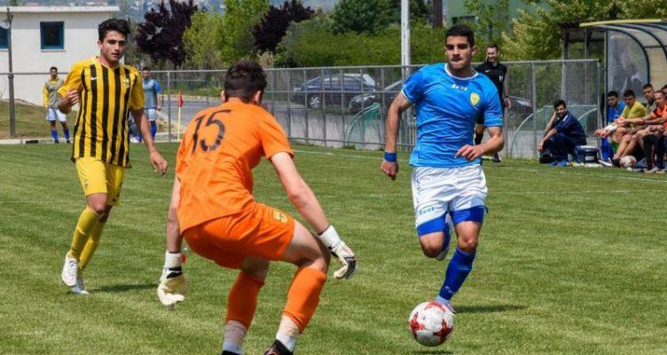 Ο Χρήστος Μπελεβώνης του Παναιτωλικού στο Ευρωπαϊκό Πρωτάθλημα ποδοσφαίρου