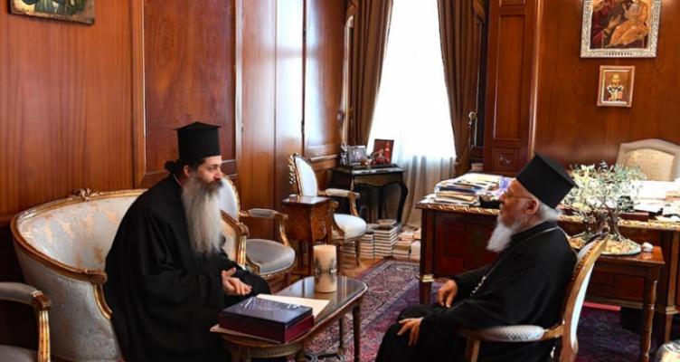 Πρόσκληση του Αρχιεπισκόπου Αθηνών και πάσης Ελλάδος στον Οικουμενικό Πατριάρχη