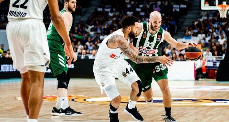 Euroleague Basketball: Ο Παναθηναϊκός άγγιξε το break στη Μαδρίτη