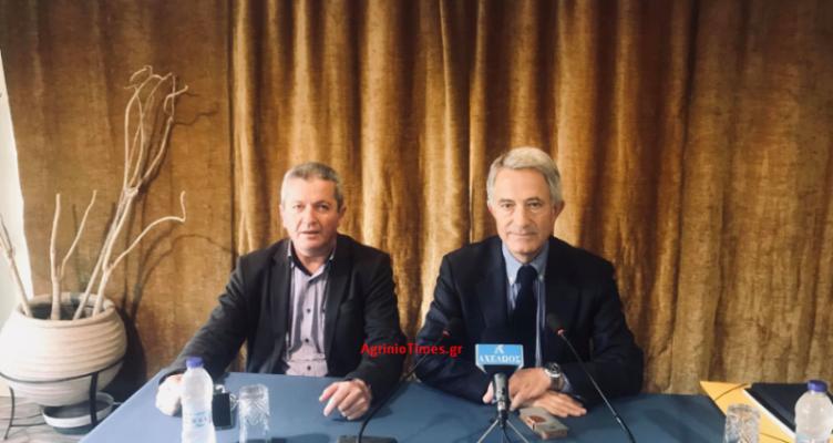 Αγρίνιο: Συνέντευξη τύπου του Κώστα Σπηλιόπουλου (Βίντεο – Φωτό)
