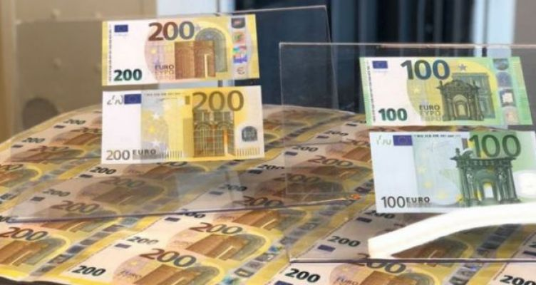 Έτσι είναι τα νέα χαρτονομίσματα των 100 και 200 ευρώ (Φωτό)