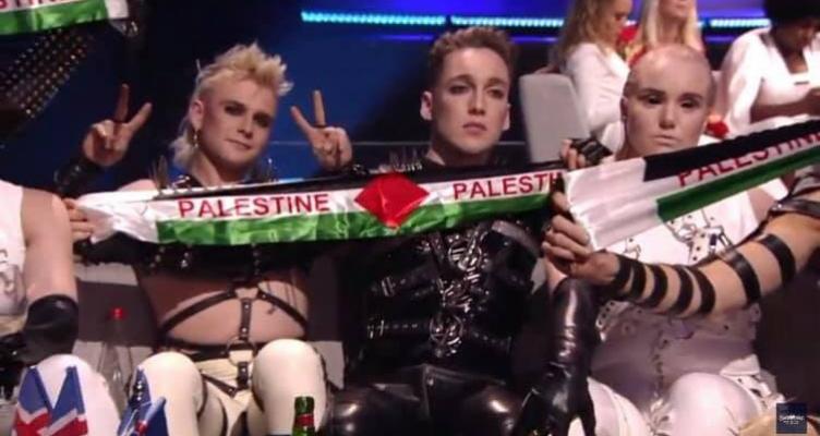 Eurovision 2019: Η Ισλανδία έβγαλε σημαία της Παλαιστίνης στο Τελ Αβίβ