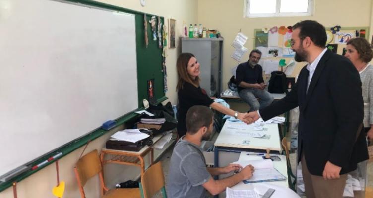 Επισκέψεις Ν. Φαρμάκη σε εκλογικά τμήματα της Δυτικής Ελλάδας (Φωτό)