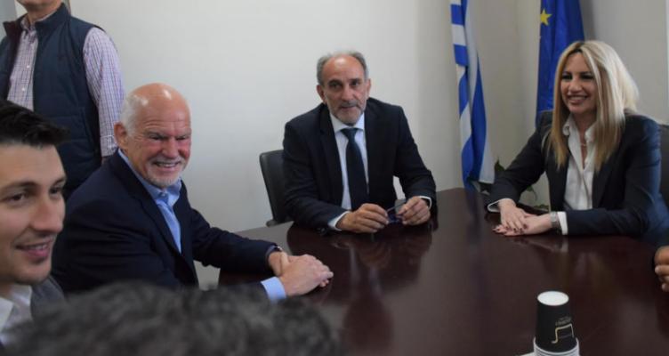 Στην Περιφέρεια Δυτικής Ελλάδας η Πρόεδρος του Κινήματος Αλλαγής Φώφη Γεννηματά