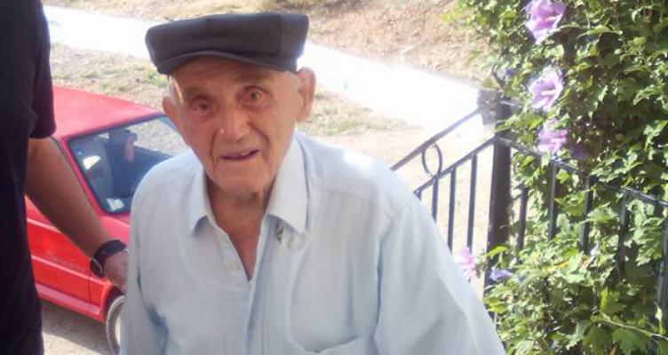 Ξηρομέρο: «Έφυγε» από την ζωή ο Γιάννης Ζορμπάς ο γηραιότερος άνθρωπος