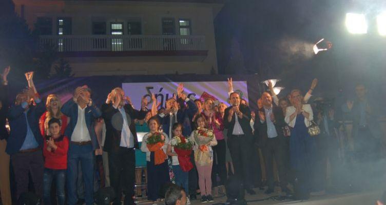 Βέβαιος για την νίκη του στις εκλογές ο υποψήφιος Δήμαρχος Ν. Καραπάνος (Φωτό)