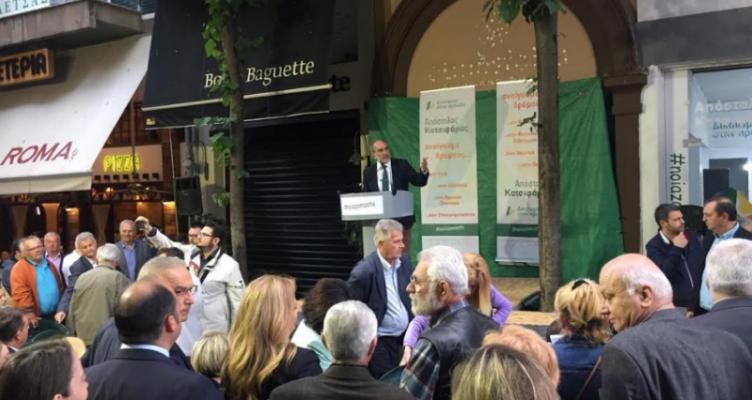 Απ. Κατσιφάρας στο Αγρίνιο: Την Κυριακή ψηφίστε «ναι» στο δικαίωμα στην πρόοδο (Φωτό)