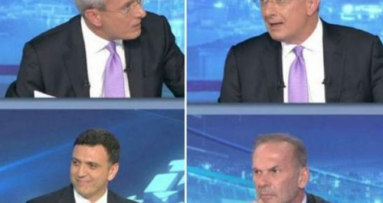 Κικίλιας και Κωστόπουλος μαζί στο πάνελ του Χατζηνικολάου (Βίντεο)