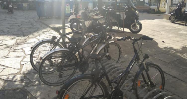 Kοινόχρηστα ποδήλατα στο Δήμο Ναυπακτίας