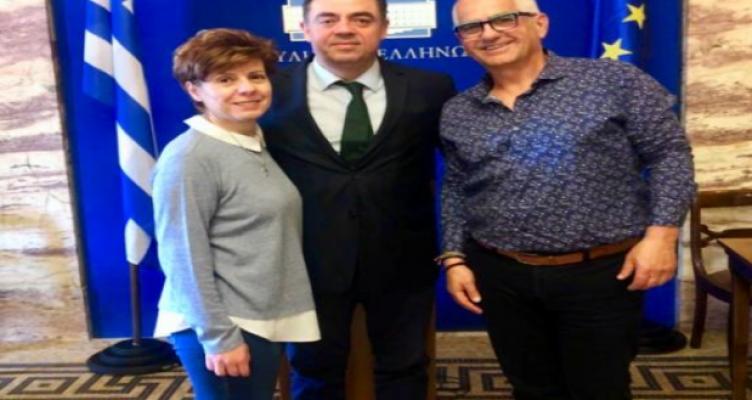 Επίσκεψη Εκπροσώπων της Κ.Ο.Κ.Κ.Κ.Ε. στη Βουλή των Ελλήνων με άρωμα Αιτωλ/νίας