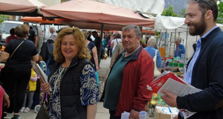 Στη μάχη της διακίνησης του ψηφοδελτίου η «Λαϊκή Συσπείρωση» Ακτίου-Βόνιτσας