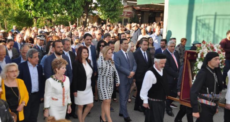 Αγρίνιο: Λιτάνευση Εικόνας Αγίου Κωνσταντίνου (Φωτό)
