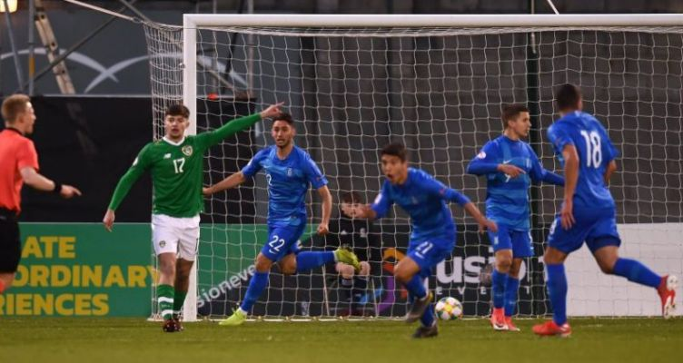 Με τον Χρήστο Μπελεβώνη του Παναιτωλικού το 1-1 για την Εθνική U17