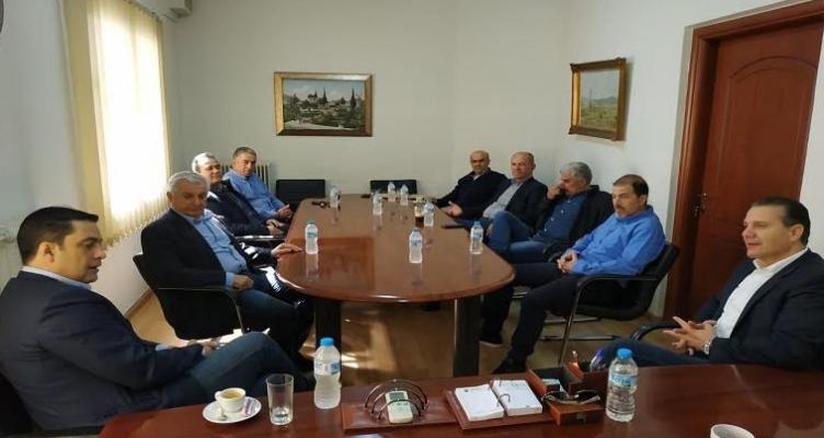 Επίσκεψη Γ. Παπαναστασίου στην Ένωση Αγρινίου (Βίντεο – Φωτό)