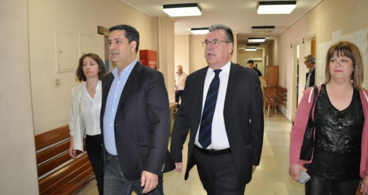 Αγρίνιο: Δημόσιες υπηρεσίες επισκέφθηκε σήμερα ο Γιώργος Παπαναστασίου (Φωτό)