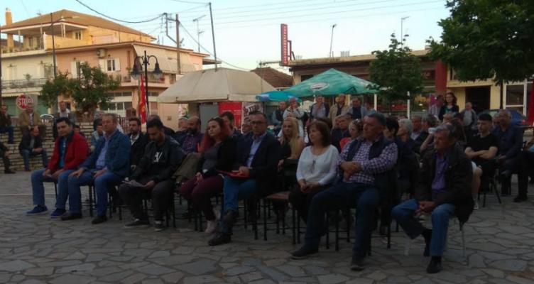 Περιοδεία του Νίκου Παπαναστάση στην Αιτωλοακαρνανία