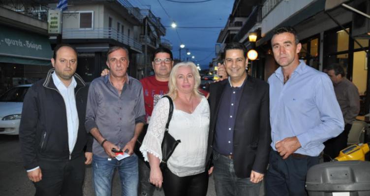 Με τους κατοίκους σε Κεράσοβο, Ζευγαράκι και Ματαράγκα συναντήθηκε ο Γ. Παπαναστασίου