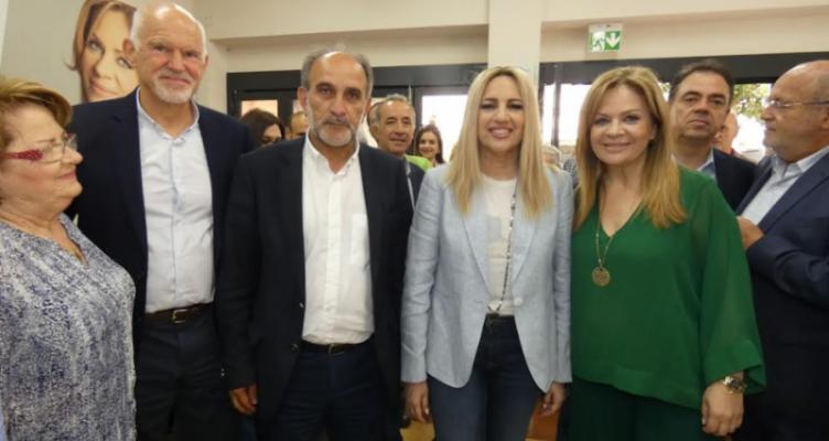ΚΙΝ.ΑΛ. – Αχαΐα: Το ψηφοδέλτιο με επικεφαλής τον Γιώργο Παπανδρέου