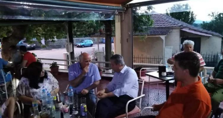 Επίσκεψη Β. Αντωνόπουλου στην Αμφιλοχία και σε χωριά Αγρινίου και Θέρμου